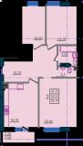 общая площадь 85,76 кв.м.