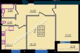 общая площадь 68,86 кв.м.