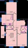 общая площадь 80,57 кв.м.