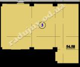 торгово офисное помещение 54,58  кв.м.