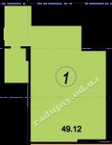 торгово офисное помещение 49,12  кв.м.