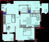 общая площадь 80,34  кв.м.