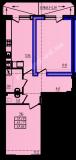общая площадь 65,86 кв.м.