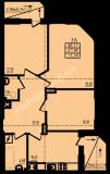 общая площадь 71,34 кв.м.