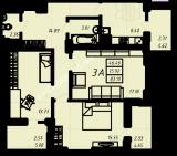 общая площадь 83,10 кв.м.